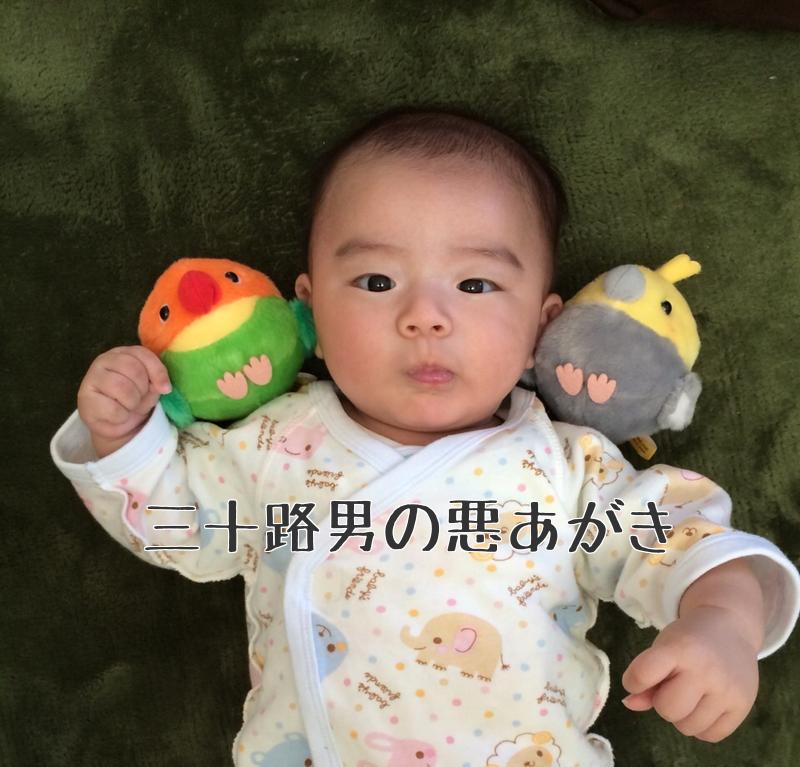 赤ちゃん_ぬいぐるみー_3ヶ月
