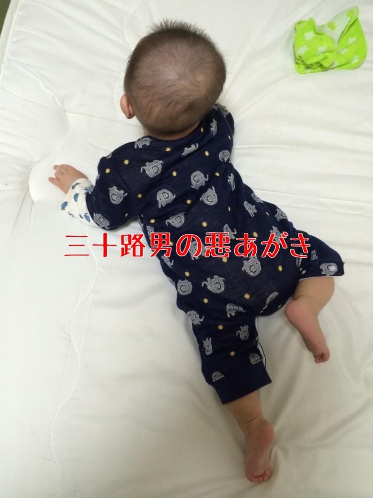 赤ちゃん_寝返り