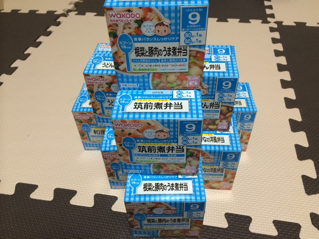 赤ちゃん_防災_離乳食
