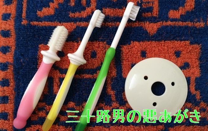 ピジョン乳歯ブラシセット