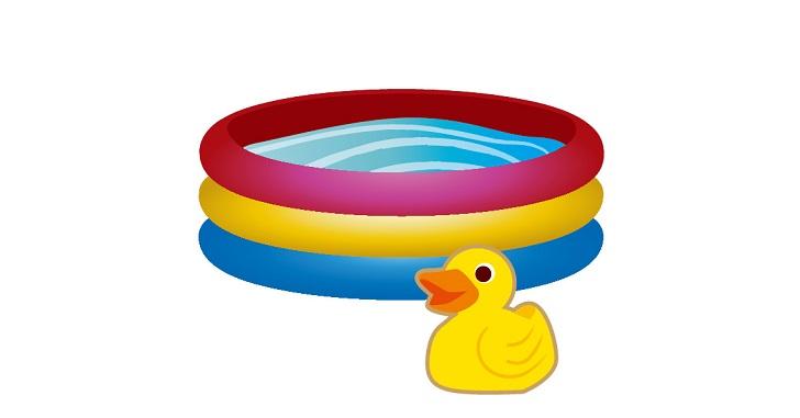 赤ちゃんをプールで遊ばせる為の注意点や水着の選び方
