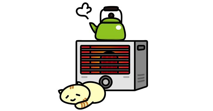 室温の調節を行う