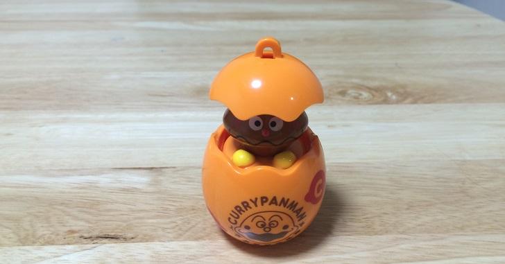 アンパンマンのガチャガチャで安価に子どものおもちゃ集め