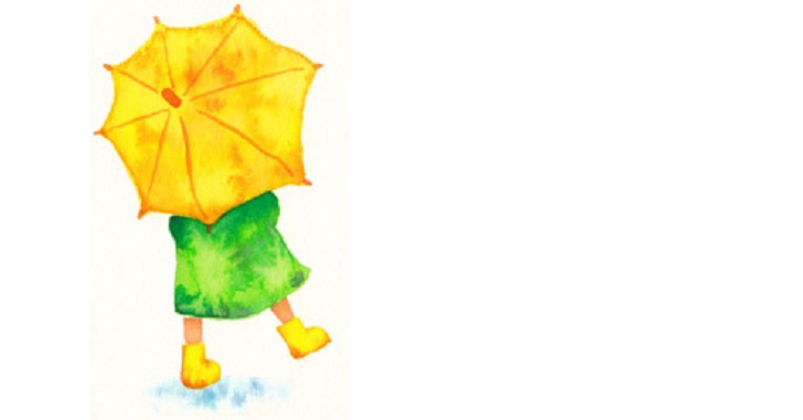 【子ども用】雨の日のお散歩が楽しくなるセットが完成した