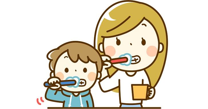 パントで歯磨き嫌いを克服