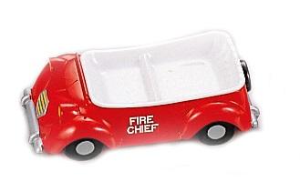 消防車のランチプレート