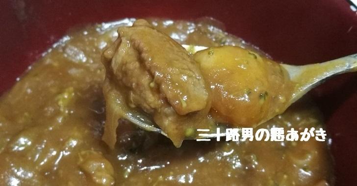 薄切りバラ肉のビーフシチュー