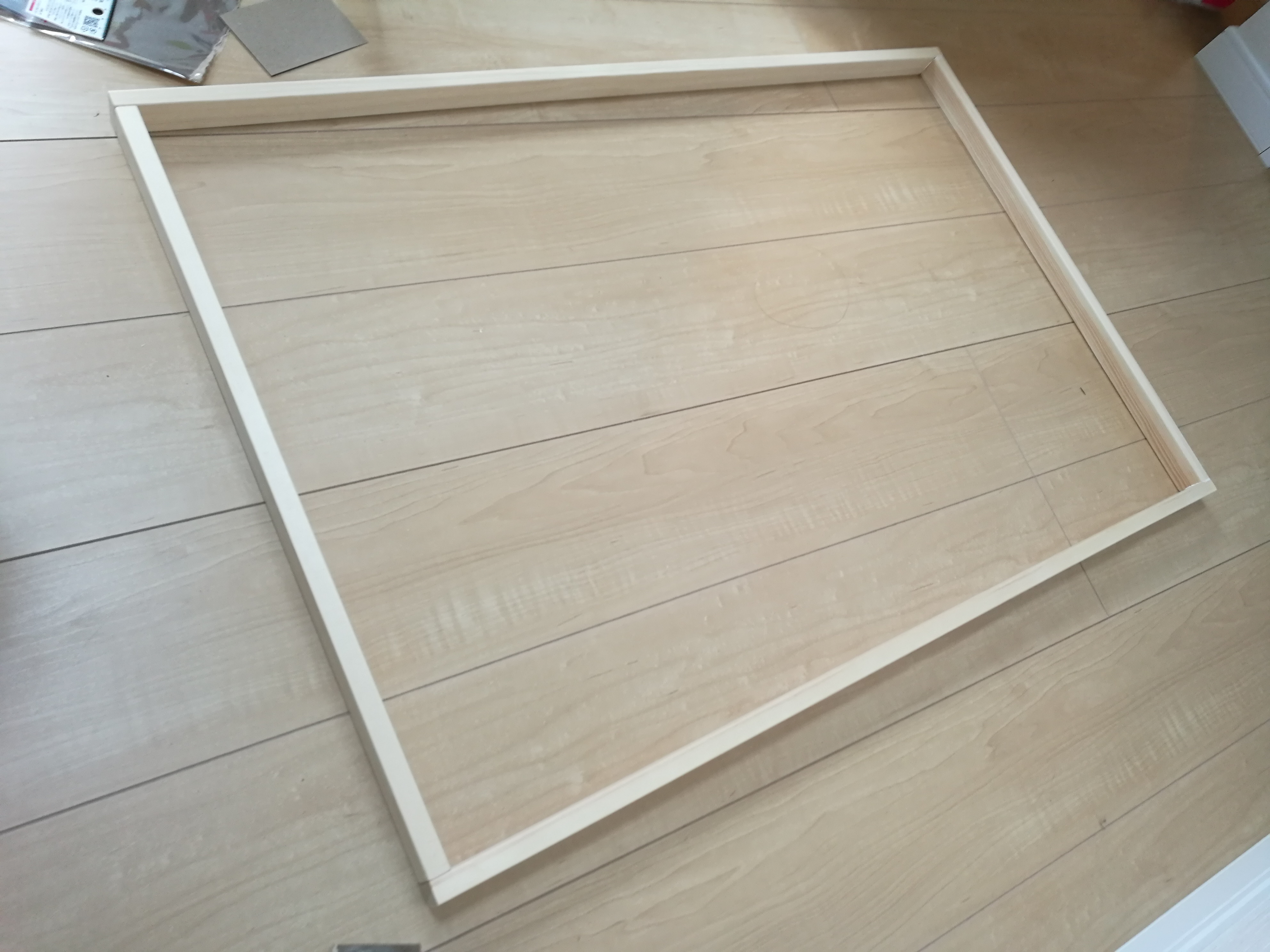天板用のふちを作る