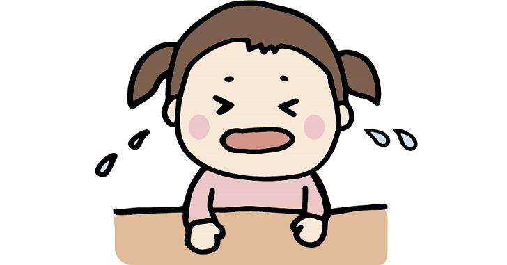 号泣する女の子