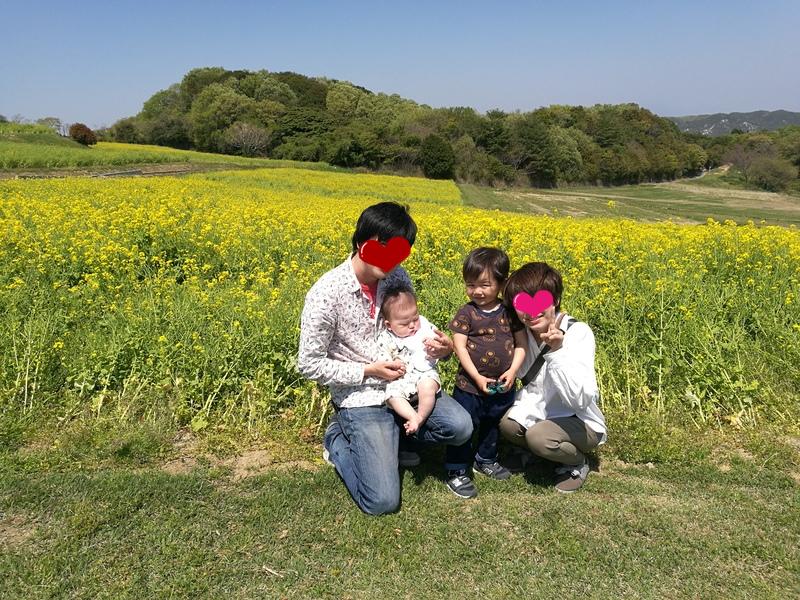 滅多に撮れない家族写真