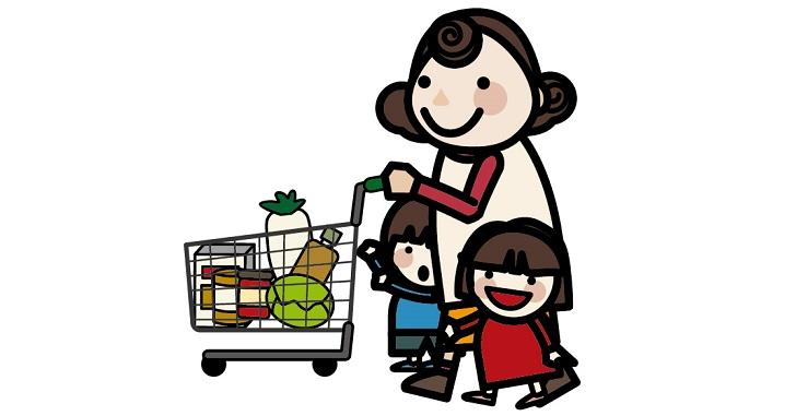 """スーパーで走り回る3歳児を""""お手伝い""""で手なずけることに成功?"""