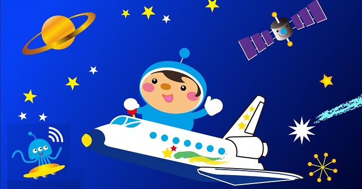 子ども_宇宙旅行
