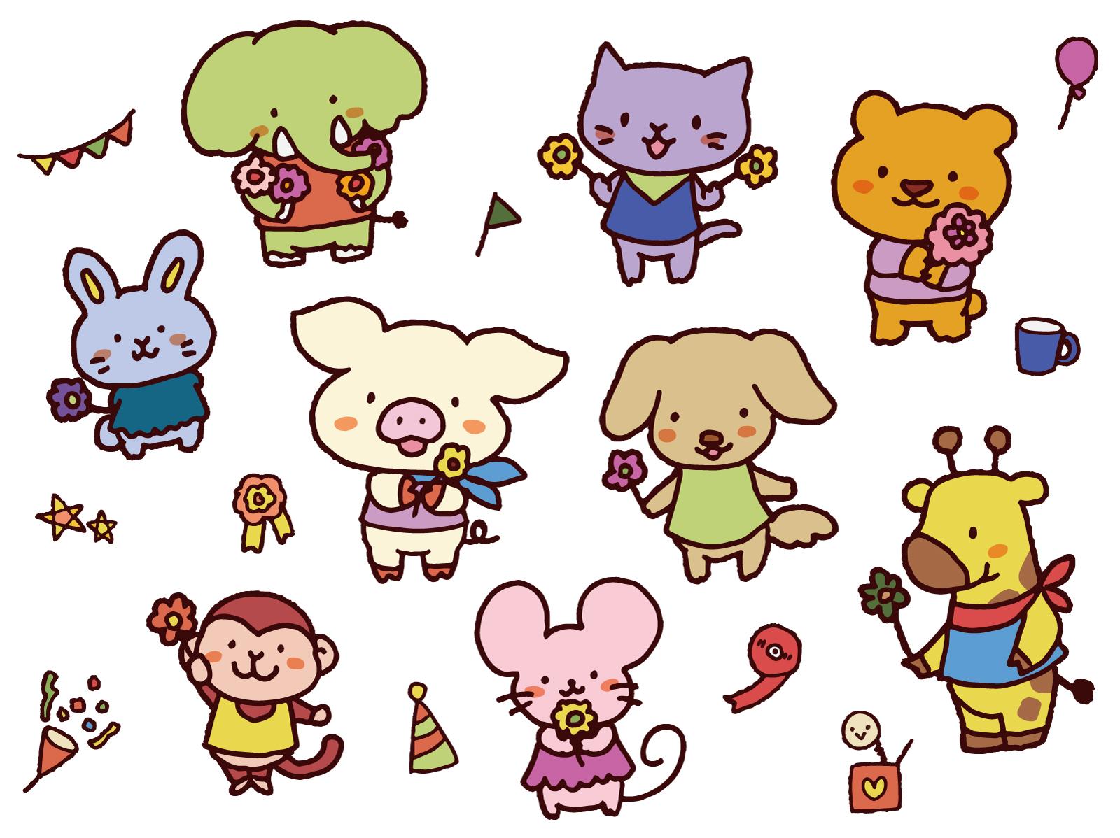 動物_お祝い